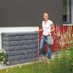 rocky-wall-tank-rain-barrel-holds-92-gallons-of-water-features-a-lifelike-stone-look-and-made-of-UV-stabilized-and-weather-resistant-also-includes-wind-protection