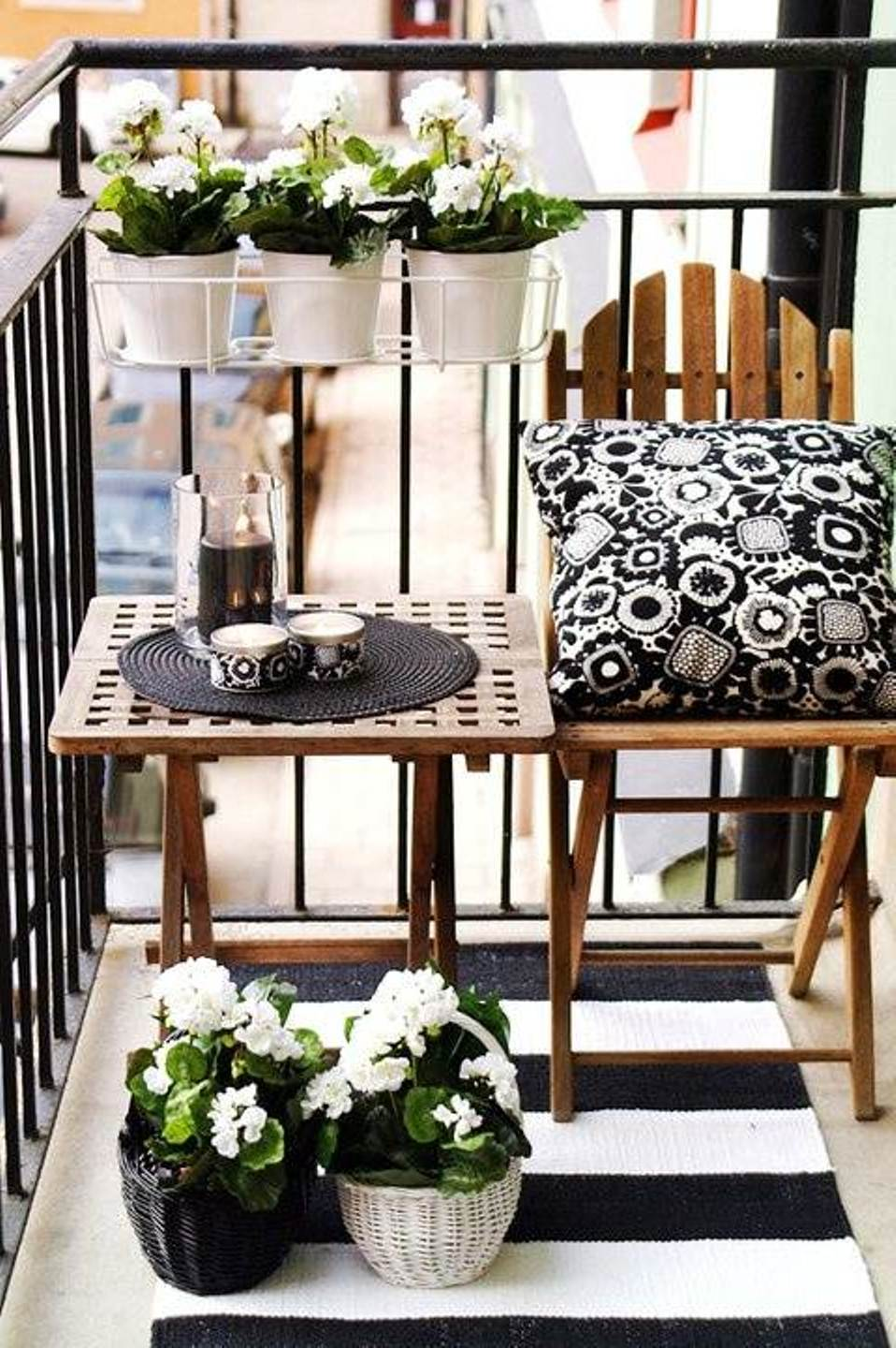 Apartment balcony furniture ideas you will be attracted to - Small apartment furniture ideas ...