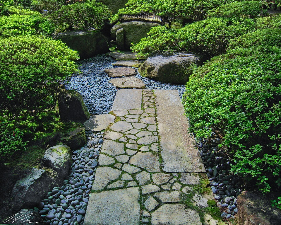 Small Japanese Garden for Green and Refreshing Exhibition ... on Small Backyard Japanese Garden id=19212