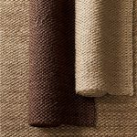 Dark And Light Brown Of Soft Sisal Rug