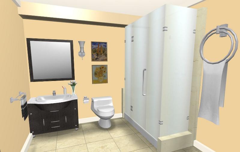 3D Bathroom Planner: Create A Closely Real Bathroom ...