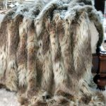 Animal Pattern Of Faux Fur Blanket Queen