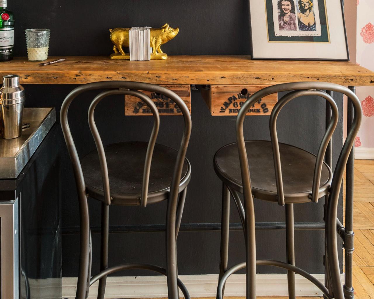 Well-liked Vintage Metal Bar Stools | HomesFeed HC29
