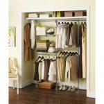 Built in walmart closet organizer idea