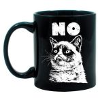Cat Design With Black Color For Best Coffee Mugs