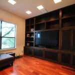 Classic Wooden In Wall Entertainment Center For Living Room