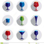 Colorful Best Drinking Glasses Design Set