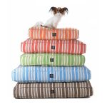 Colorful Striped Design Of Stylish Dog Beds