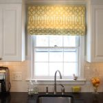 Contemporary Window Valances For Kitchen Windows Between White Kitchen Cabinet