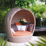 Cool Apartment Balcony Furniture Of Chair With Pillows
