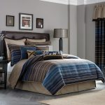 Cool Comforter Sets For Guys With Simple Stripped Design