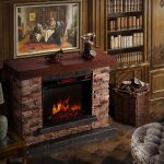 Corvus-Stacked-Stone-Mantel-Electric-Flame-Fireplace-with-metal-and-oak-and-faux-stone-materials-in-classic-style-also-offers-elegant-stacked-stone-mantel(1)