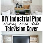 DIY Design Of Flat Screen TV Covers