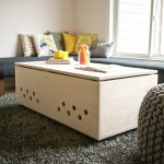 DIY-coffee-table-dog-crates-with-partition-inside-on-medium-size-and-doors-on-two-sides-with-magnet-and-holes-for-breathe-made-of-wood