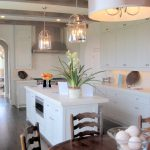 Double Kitchen Pendant Light Fixture With Cabinet Set