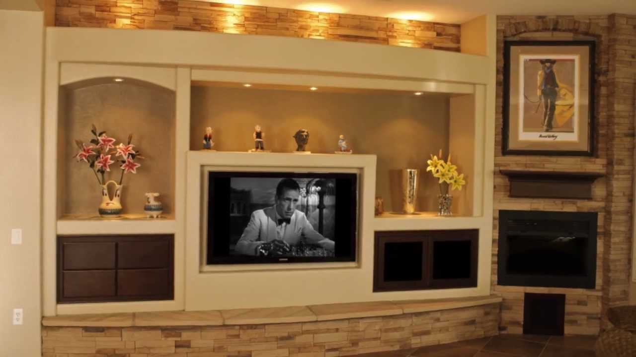 Top In Wall Entertainment Center | HomesFeed GT86