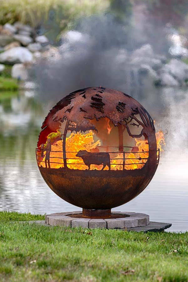 Garden Fire Pit Bbq