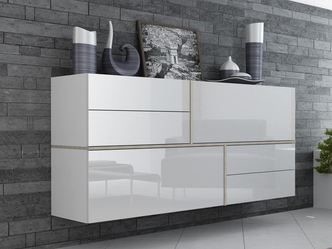 Wall-Mounted Dresser: Mini Wardrobe Storage but Stylish