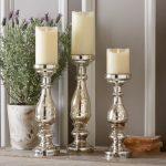 Glossy Mercury Candlesticks Stand Designs