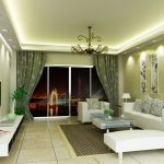 Green Living Room Colour Schemes  With Perfect Lighting