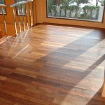 Hardwood Floor VS Laminate With Cool Stairs