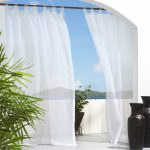Indoor Outdoor Curtains With Panel