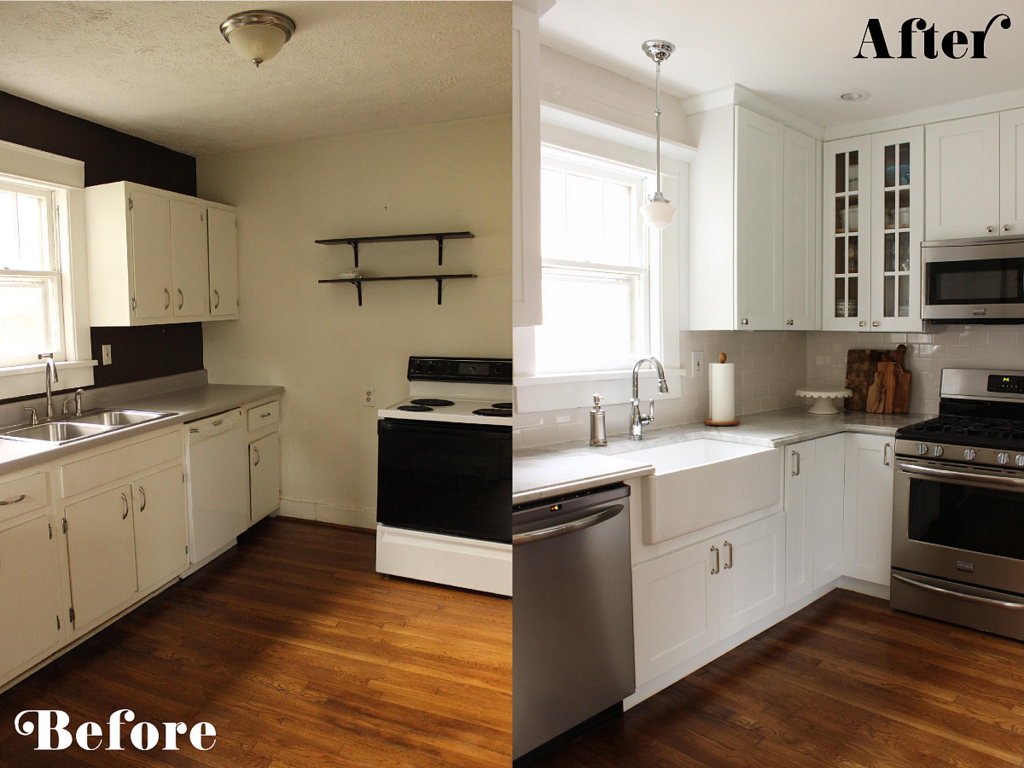 Kitchen Makeovers on A Budget | HomesFeed