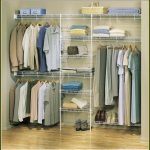 Large wood closet organizer for clothes designed by walmart
