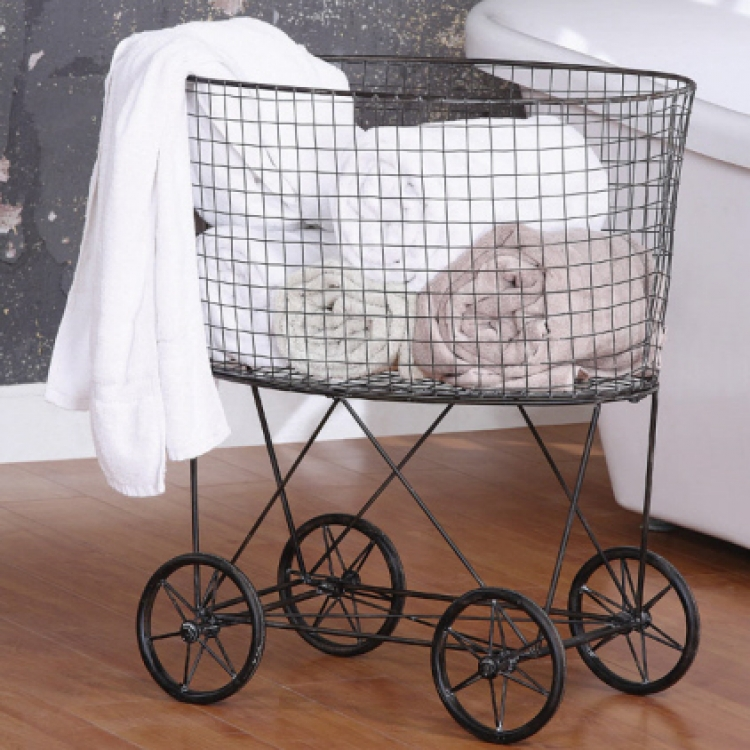 Laundry Baskets With Wheels Homesfeed