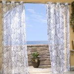 Leaves Patterned Indoor Outdoor Curtains