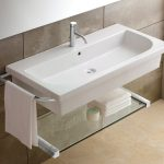 Luxury Small Wall Mount Sink For Bathroom
