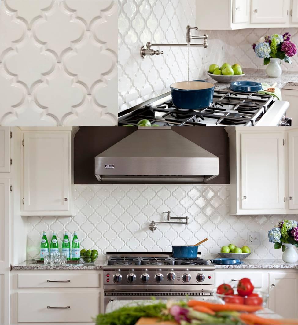 Beveled Arabesque Tile Homesfeed