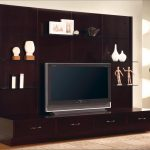 Modern In Wall Entertainment Center For TV And Accessories