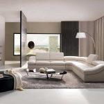 Modern Whitr Design Of Unique Sectional Sofas