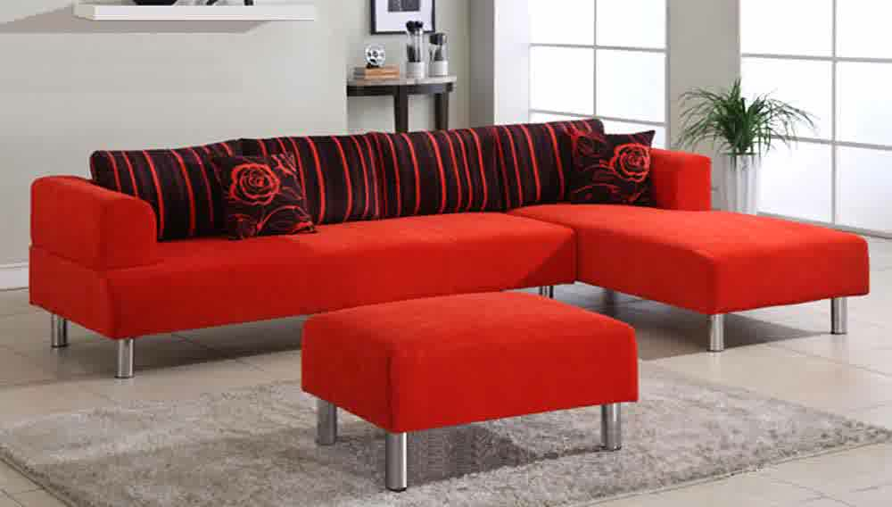 black and red living room set microfiber sectionals highlight your living room 24044