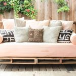 Oversized daybed frame idea with mattresss and accent pillows