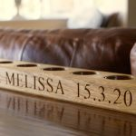 Personalises Wooden Tea Simple Wedding Gifts