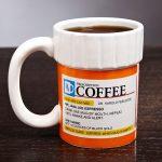Pill Bottle Of Best Coffee Mugs
