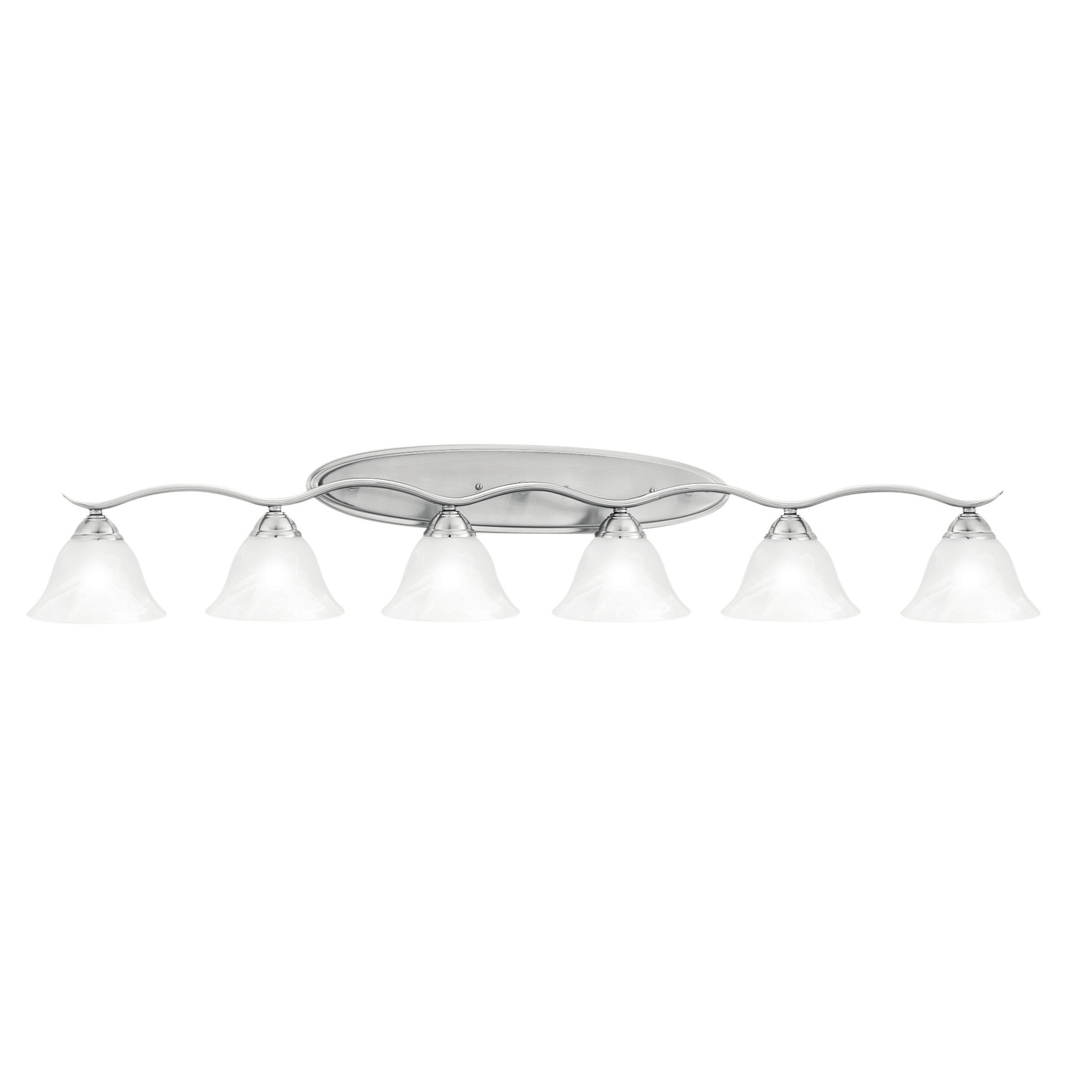 6 Light Vanity Fixture Homesfeed