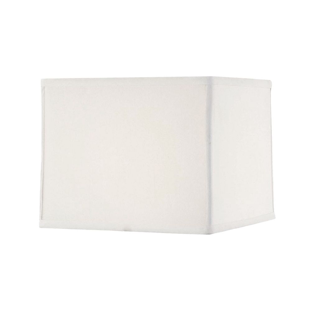 Pure White Lampshade In Rectangular Shape
