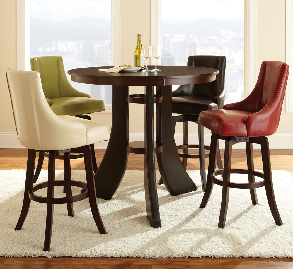 Round Table With Stools: Pub Tables And Stools