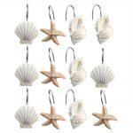 Sea Shower Curtain Hooks Design