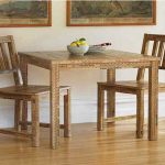 Simple Wooden Dining Set And Small Rectangular Dining Table