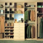 Simple large wood closet organizer model by walmart
