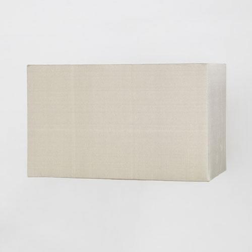 Simple White Lampshade In Rectangular Shape