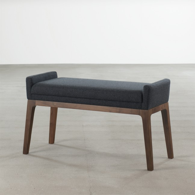 Small Upholstered Bench An Instant Seating Addition Idea