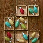 Sparkling Light Holiday Ornaments To Make