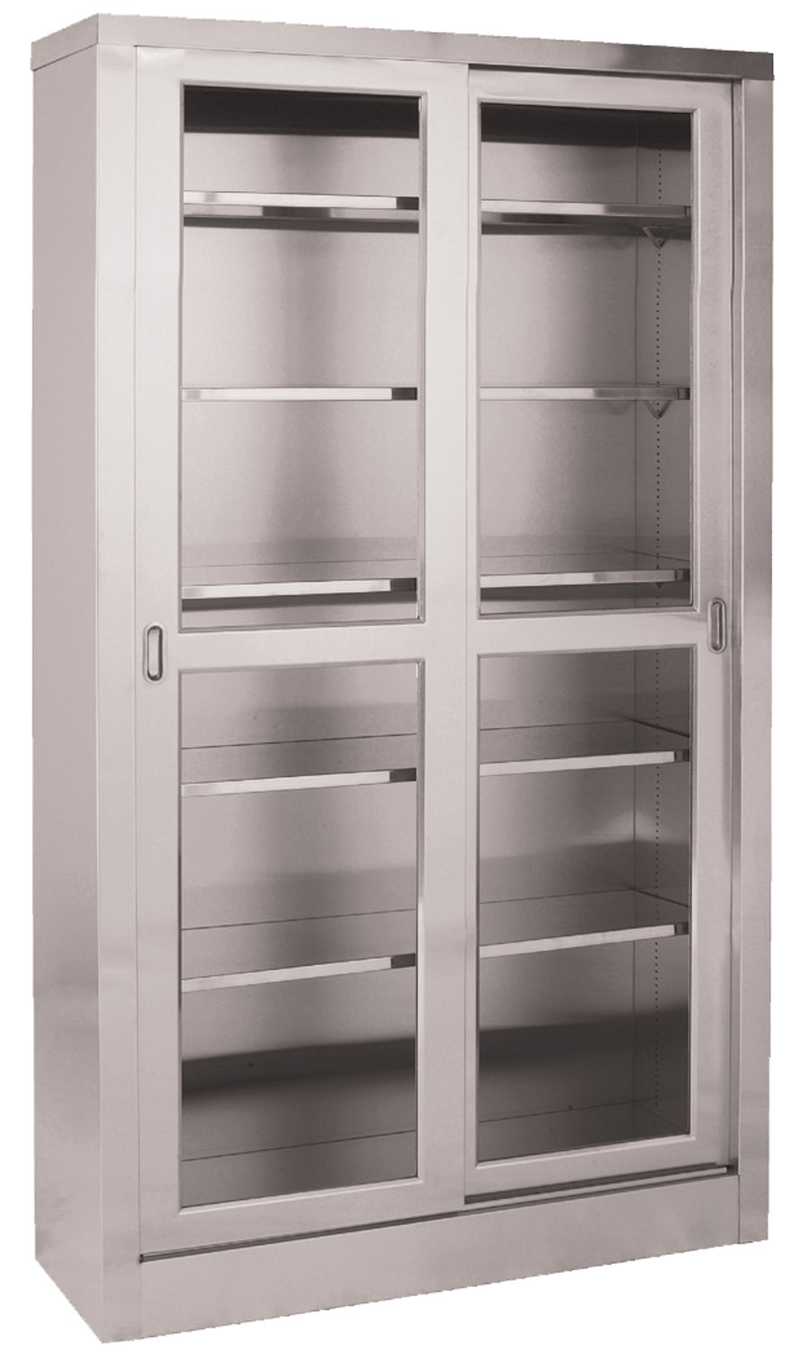 Storage Cabinet with Glass Doors - HomesFeed