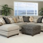 Surprising Gret Chairs And Unique Sectional Sofas With Decorative Pillows