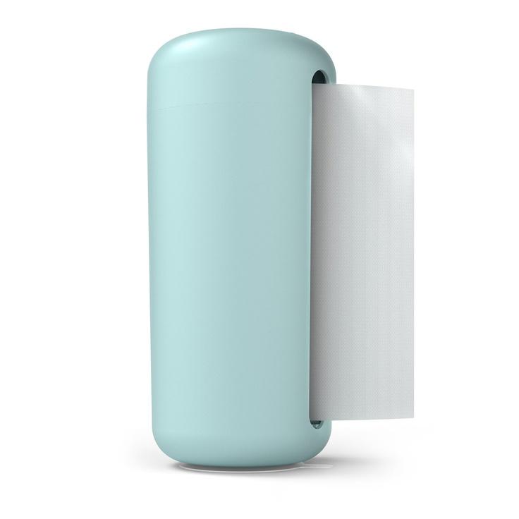 Turquoise Modern Paper Towel Holder